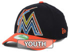 Miami Marlins New Era MLB 2014 Youth Clubhouse 39THIRTY Cap Stretch Fitted Hats