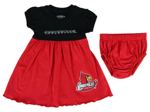 Louisville Cardinals Colosseum NCAA Newborn Cupid Dress