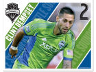 Seattle Sounders FC Clint Dempsey Wincraft 5x6 Ultra Decal Bumper Stickers & Decals