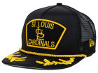 St. Louis Cardinals New Era MLB Gold Rope 9FIFTY Snapback Cap Adjustable Hats
