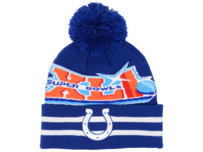 Indianapolis Colts NFL Super Bowl Super Wide Point Knit Hats