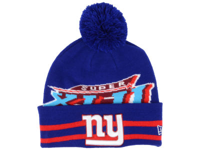 New York Giants NFL Super Bowl Super Wide Point Knit Hats
