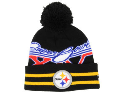 Pittsburgh Steelers NFL Super Bowl Super Wide Point Knit Hats