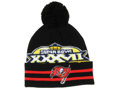 Tampa Bay Buccaneers NFL Super Bowl Super Wide Point Knit Hats
