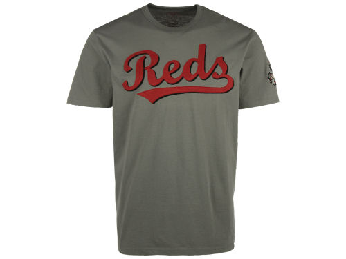 Cincinnati Reds MLB Men's Fieldhouse Basic T-Shirt