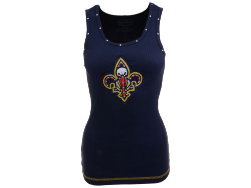 New Orleans Pelicans Majestic NBA Womens Necklace Tank