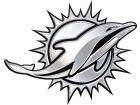 Miami Dolphins Metal Auto Emblem Auto Accessories