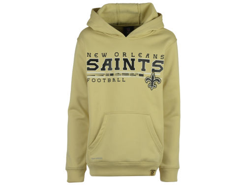 New Orleans Saints Outerstuff NFL Youth Performance Hoodie
