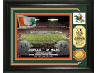 Miami Hurricanes Highland Mint Photo Mint Coin-Bronze Collectibles