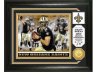New Orleans Saints Drew Brees Highland Mint Photo Mint Coin-Bronze Collectibles