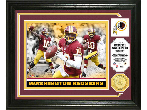 Washington Redskins Robert Griffin III Highland Mint Photo Mint Coin-Bronze