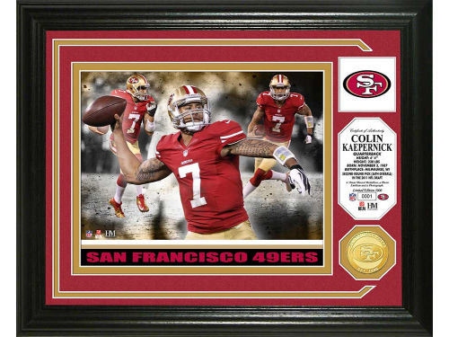 San Francisco 49ers Colin Kaepernick Highland Mint Photo Mint Coin-Bronze