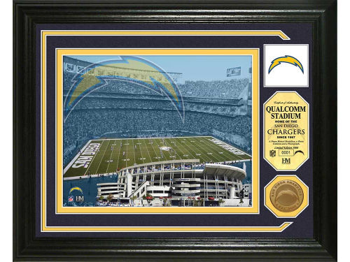 San Diego Chargers Highland Mint Photo Mint Coin-Bronze