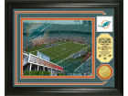 Miami Dolphins Highland Mint Photo Mint Coin-Bronze Collectibles