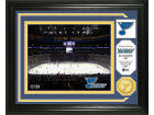 St. Louis Blues Highland Mint Photo Mint Coin-Bronze Collectibles