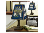 Pittsburgh Panthers Art Glass Table Lamp Bed & Bath