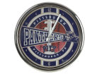 Pittsburgh Panthers Chrome Clock Bed & Bath