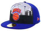 New York Knicks New Era NBA Hardwood Classics Round D'Way 59FIFTY Cap Fitted Hats