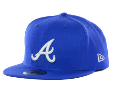 Atlanta Braves MLB C-Dub 59FIFTY Cap Hats