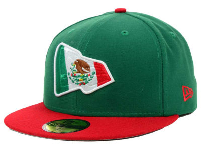 Mexico Branded Country Colors Redux 59FIFTY Cap Hats