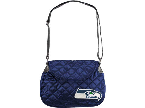 Seattle Seahawks Little Earth Quilted Saddlebag