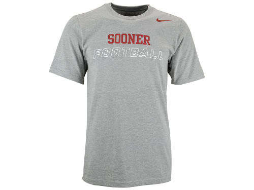 Oklahoma Sooners Nike NCAA Cotton Training Day T-Shirt