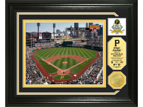 Pittsburgh Pirates Highland Mint Photo Mint Coin-Bronze