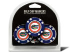 Florida Gators Team Golf Golf Poker Chip Markers 3 Pack Toys & Games
