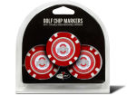 Ohio State Buckeyes Team Golf Golf Poker Chip Markers 3 Pack Toys & Games