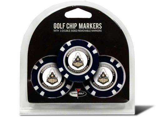 Purdue Boilermakers Team Golf Golf Poker Chip Markers 3 Pack