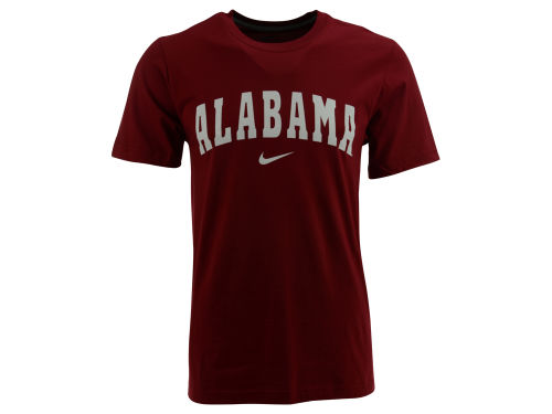 Alabama Crimson Tide Nike NCAA Wordmark Cotton T-Shirt