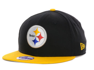 Pittsburgh Steelers NFL Kids Baycik 9FIFTY Snapback Cap Hats