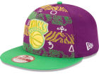 New York Knicks New Era NBA Hardwood Classics Nola Printed 9FIFTY Snapback Cap Hats