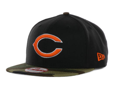 Chicago Bears NFL Woodland TC 9FIFTY Snapback Cap Hats