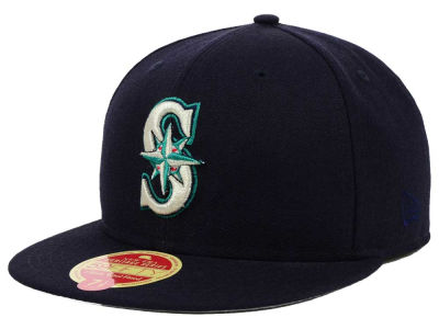 Seattle Mariners MLB Wool Classic 59FIFTY Cap Hats