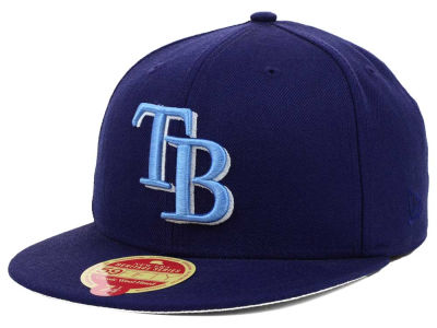Tampa Bay Rays MLB Wool Classic 59FIFTY Cap Hats