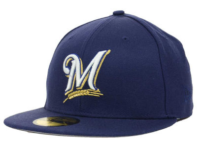 Milwaukee Brewers MLB All Star Patch Redux 59FIFTY Cap Hats