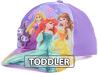 Disney Princess Flower Applique Baseball Toddler Cap Adjustable Hats