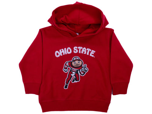 Ohio State Buckeyes NCAA Toddler Arch Mascot Hoodie