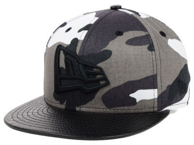 New Era Branded Urban Snake 9FIFTY Strapback Cap Hats