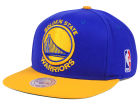 Golden State Warriors Mitchell and Ness NBA XL Logo Snapback Cap Hats