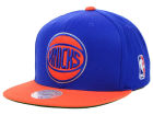 New York Knicks Mitchell and Ness NBA XL Logo Snapback Cap Hats