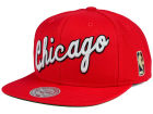 Chicago Bulls Mitchell and Ness NBA Solid Snapback Cap Hats