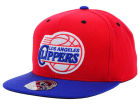 Los Angeles Clippers Mitchell and Ness NBA 2-Tone High Crown Fitted Cap Hats