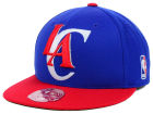 Los Angeles Clippers Mitchell and Ness NBA XL Logo 2-Tone Fitted Cap Hats