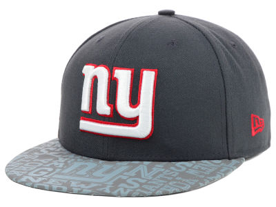 New York Giants 2014 NFL Draft Graphite 59FIFTY Cap Hats