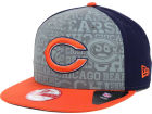 Chicago Bears New Era 2014 NFL Draft 9FIFTY Snapback Cap Adjustable Hats