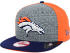 Denver Broncos New Era 2014 NFL Draft 9FIFTY Snapback Cap Adjustable Hats