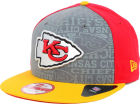 Kansas City Chiefs New Era 2014 NFL Draft 9FIFTY Snapback Cap Adjustable Hats