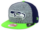 Seattle Seahawks New Era 2014 NFL Draft 9FIFTY Snapback Cap Adjustable Hats